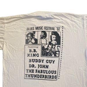 Authentic vintage blues festival shirt